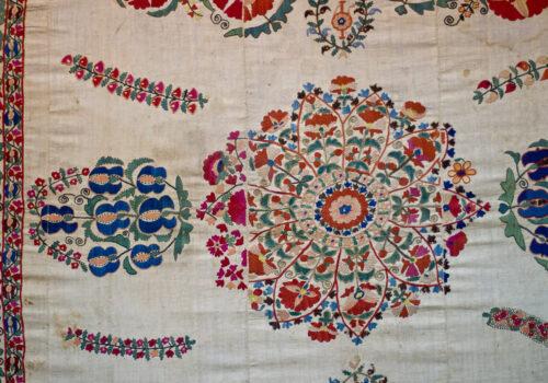 Bukhara Suzani textile