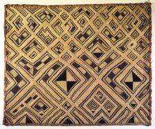 Kuba raffia cloth © CC-BY Brooklyn Museum